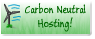 Carbon Neutural Hosting!